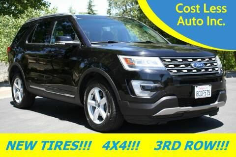 2016 Ford Explorer for sale at Cost Less Auto Inc. in Rocklin CA
