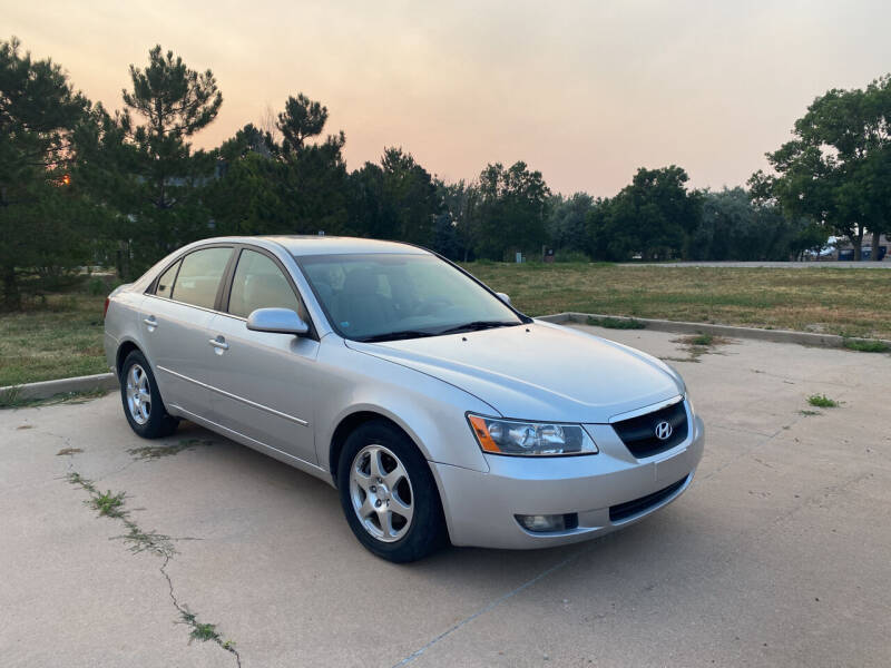 2006 Hyundai Sonata for sale at QUEST MOTORS in Englewood CO