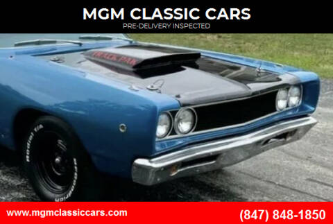 1968 Dodge Coronet for sale at MGM CLASSIC CARS-New Arrivals in Addison IL