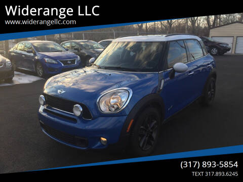 2012 MINI Cooper Countryman for sale at Widerange LLC in Greenwood IN