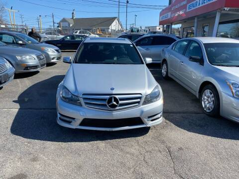 2012 Mercedes-Benz C-Class for sale at Sandy Lane Auto Sales and Repair in Warwick RI