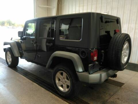 2008 Jeep Wrangler Unlimited for sale at L&T Auto Sales in Three Rivers MI