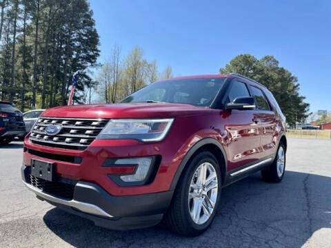 2016 Ford Explorer for sale at Airbase Auto Sales in Cabot AR