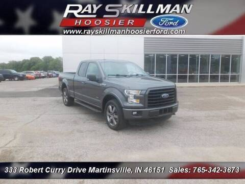 2015 Ford F-150 for sale at Ray Skillman Hoosier Ford in Martinsville IN