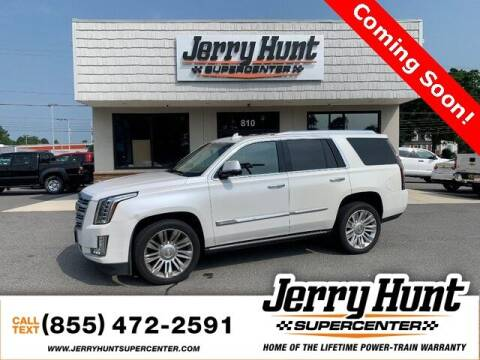 2016 Cadillac Escalade for sale at Jerry Hunt Supercenter in Lexington NC