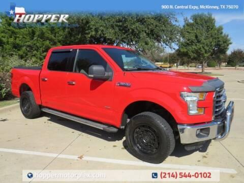 2016 Ford F-150 for sale at HOPPER MOTORPLEX in Mckinney TX