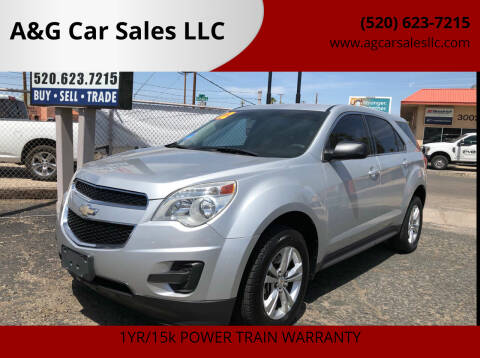 2012 Chevrolet Equinox for sale at A&G Car Sales  LLC in Tucson AZ