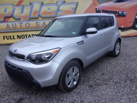 2016 Kia Soul for sale at Pyles Auto Sales in Kittanning PA