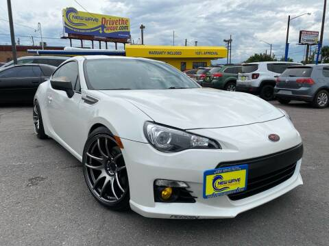 2015 Subaru BRZ for sale at New Wave Auto Brokers & Sales in Denver CO