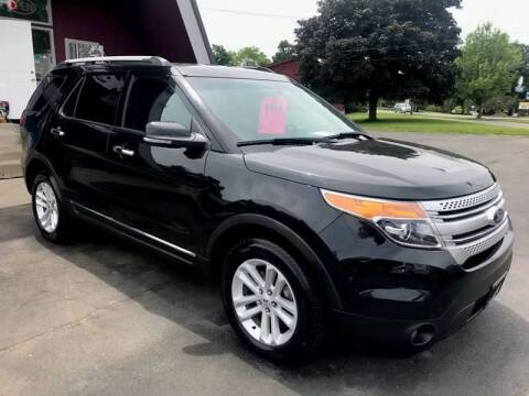 2012 Ford Explorer for sale at Pop's Automotive in Homer NY