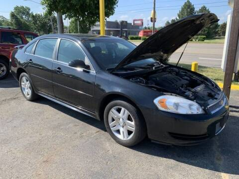 2014 Chevrolet Impala Limited for sale at RPM AUTO SALES in Lansing MI