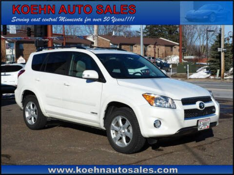 2012 Toyota RAV4 for sale at Koehn Auto Sales in Lindstrom MN
