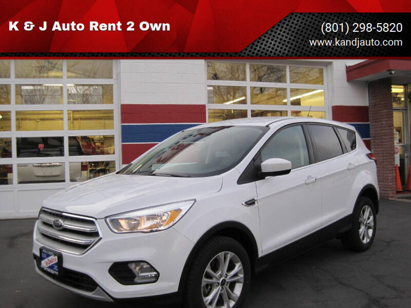 2019 Ford Escape for sale at K & J Auto Rent 2 Own in Bountiful UT