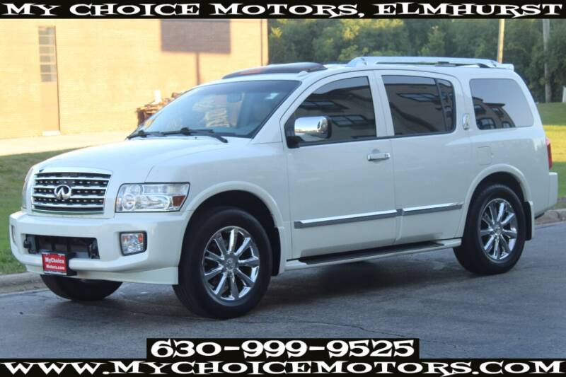 2008 Infiniti QX56 for sale at Your Choice Autos - My Choice Motors in Elmhurst IL