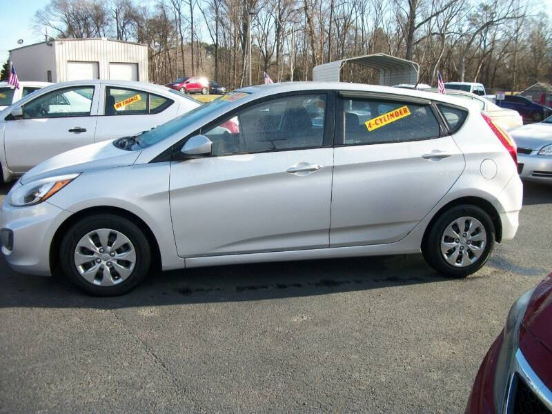 2016 Hyundai Accent for sale at Lentz's Auto Sales in Albemarle NC