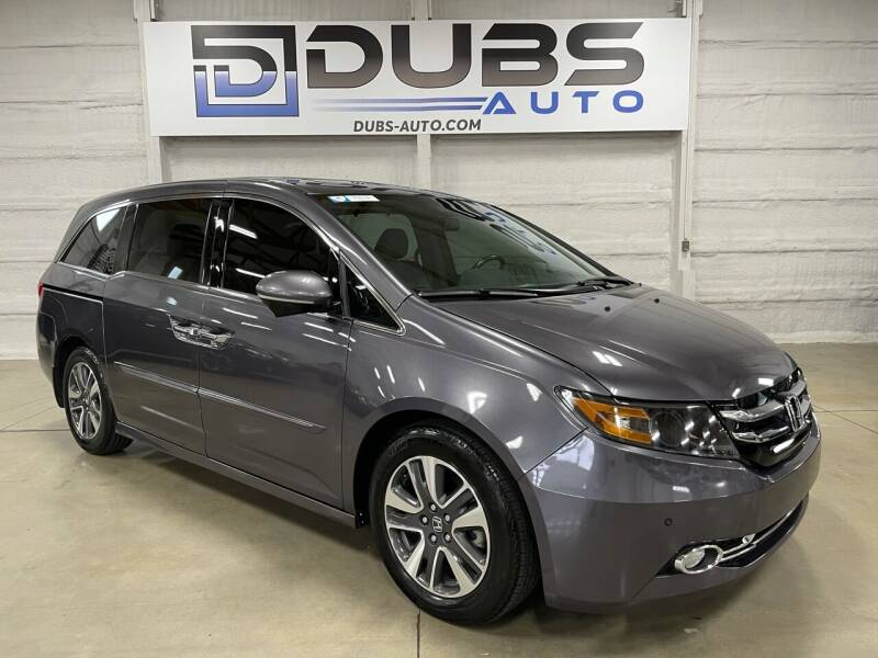 2016 Honda Odyssey for sale at DUBS AUTO LLC in Clearfield UT