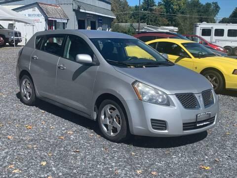 2009 Pontiac Vibe for sale at Saratoga Motors in Gansevoort NY
