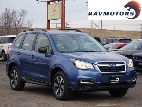 2017 Subaru Forester for sale at RAVMOTORS in Burnsville MN
