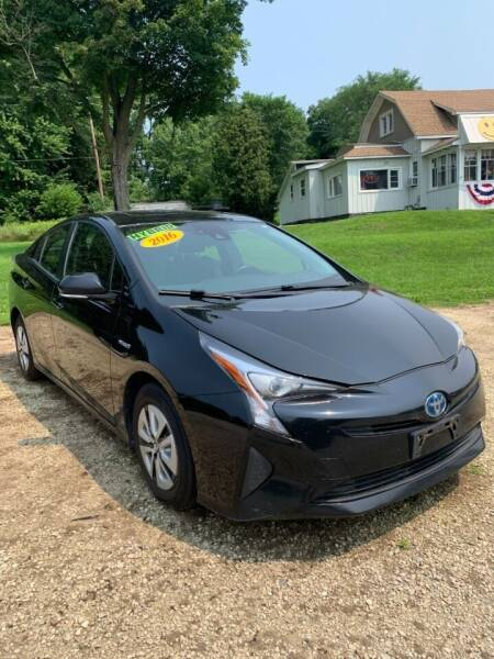 2016 Toyota Prius for sale at Hillside Motor Sales in Coldwater MI