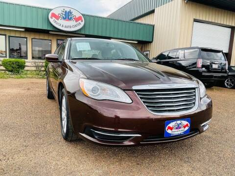2013 Chrysler 200 for sale at JC Truck and Auto Center in Nacogdoches TX