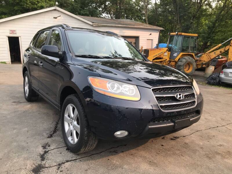 2008 Hyundai Santa Fe for sale at R C Auto Sales in Connellsville PA