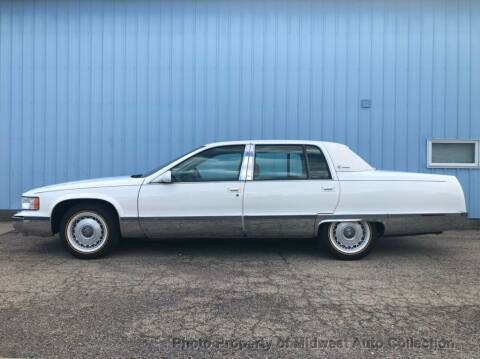 1996 Cadillac Fleetwood for sale at MIDWEST AUTO COLLECTION in Addison IL