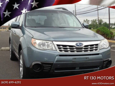 2011 Subaru Forester for sale at RT 130 Motors in Burlington NJ