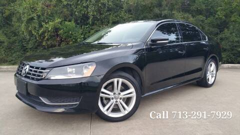 2015 Volkswagen Passat for sale at Houston Auto Preowned in Houston TX