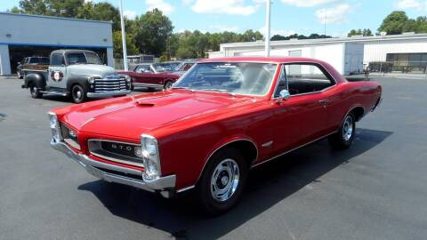 1966 Pontiac GTO for sale at Classic Connections in Greenville NC