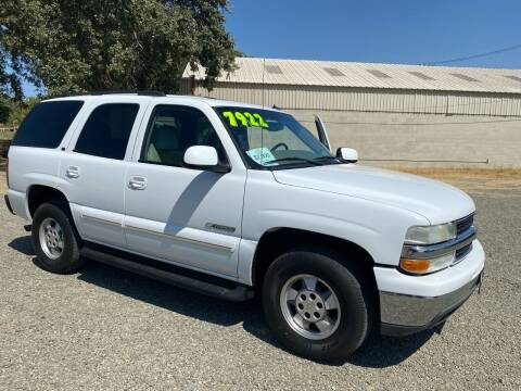 2003 Chevrolet Tahoe for sale at Quintero's Auto Sales in Vacaville CA