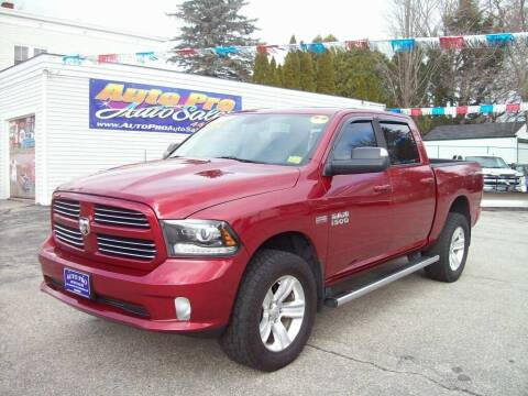 2014 RAM Ram Pickup 1500 for sale at Auto Pro Auto Sales in Lewiston ME