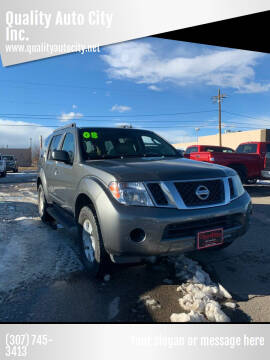 2008 Nissan Pathfinder for sale at Quality Auto City Inc. in Laramie WY