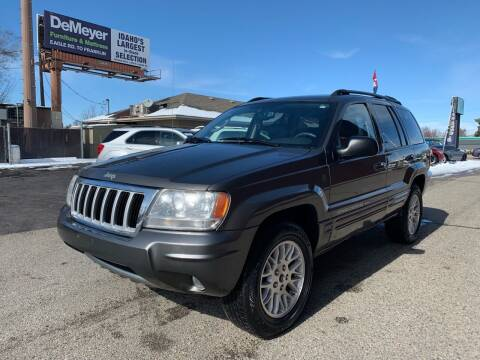 2004 Jeep Grand Cherokee for sale at Boise Motorz in Boise ID