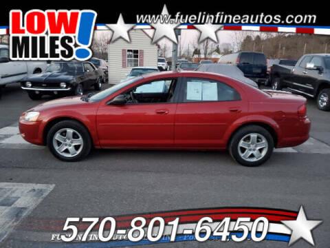 2002 Dodge Stratus for sale at FUELIN FINE AUTO SALES INC in Saylorsburg PA