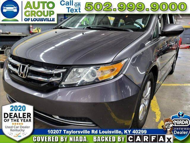 2016 Honda Odyssey for sale at Auto Group of Louisville in Louisville KY