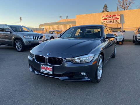 2015 BMW 3 Series for sale at Adams Auto Sales in Sacramento CA