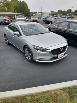 2018 Mazda MAZDA6 for sale at McCully's Automotive in Benton KY