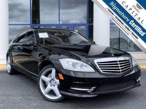 2013 Mercedes-Benz S-Class for sale at Capital Cadillac of Atlanta in Smyrna GA