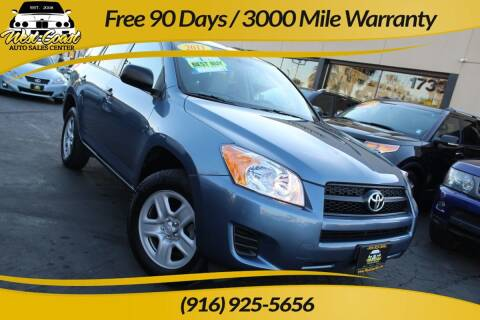 2011 Toyota RAV4 for sale at West Coast Auto Sales Center in Sacramento CA
