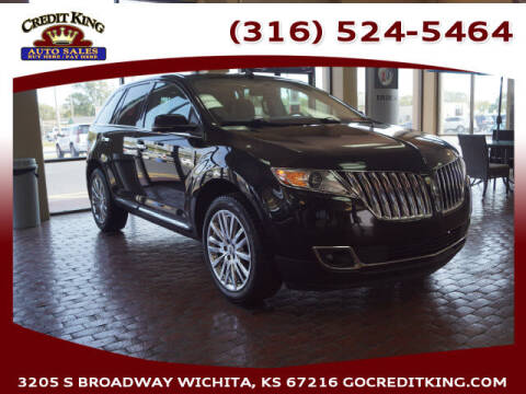 2014 Lincoln MKX for sale at Credit King Auto Sales in Wichita KS