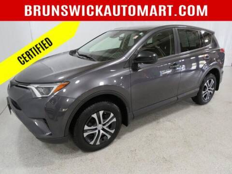 2018 Toyota RAV4 for sale at Brunswick Auto Mart in Brunswick OH