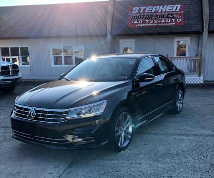 2017 Volkswagen Passat for sale at Stephen Motor Sales LLC in Caldwell OH