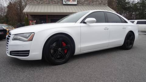 2011 Audi A8 for sale at Driven Pre-Owned in Lenoir NC