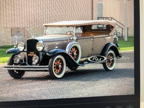 1930 Marquette Phaeton for sale at Prestige Motorcars in Warwick RI