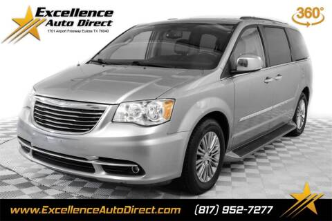 2016 Chrysler Town and Country for sale at Excellence Auto Direct in Euless TX