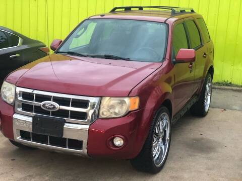 2010 Ford Escape for sale at Hadi Motors in Houston TX