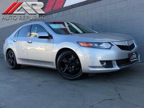 2010 Acura TSX for sale at Auto Republic Fullerton in Fullerton CA