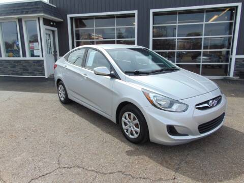 2012 Hyundai Accent for sale at Akron Auto Sales in Akron OH