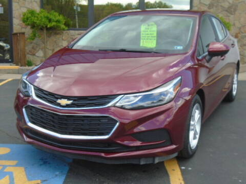 2016 Chevrolet Cruze for sale at Rogos Auto Sales in Brockway PA