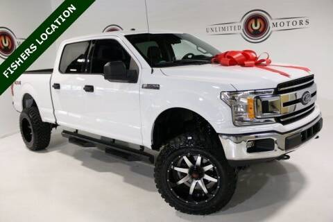 2018 Ford F-150 for sale at Unlimited Motors in Fishers IN
